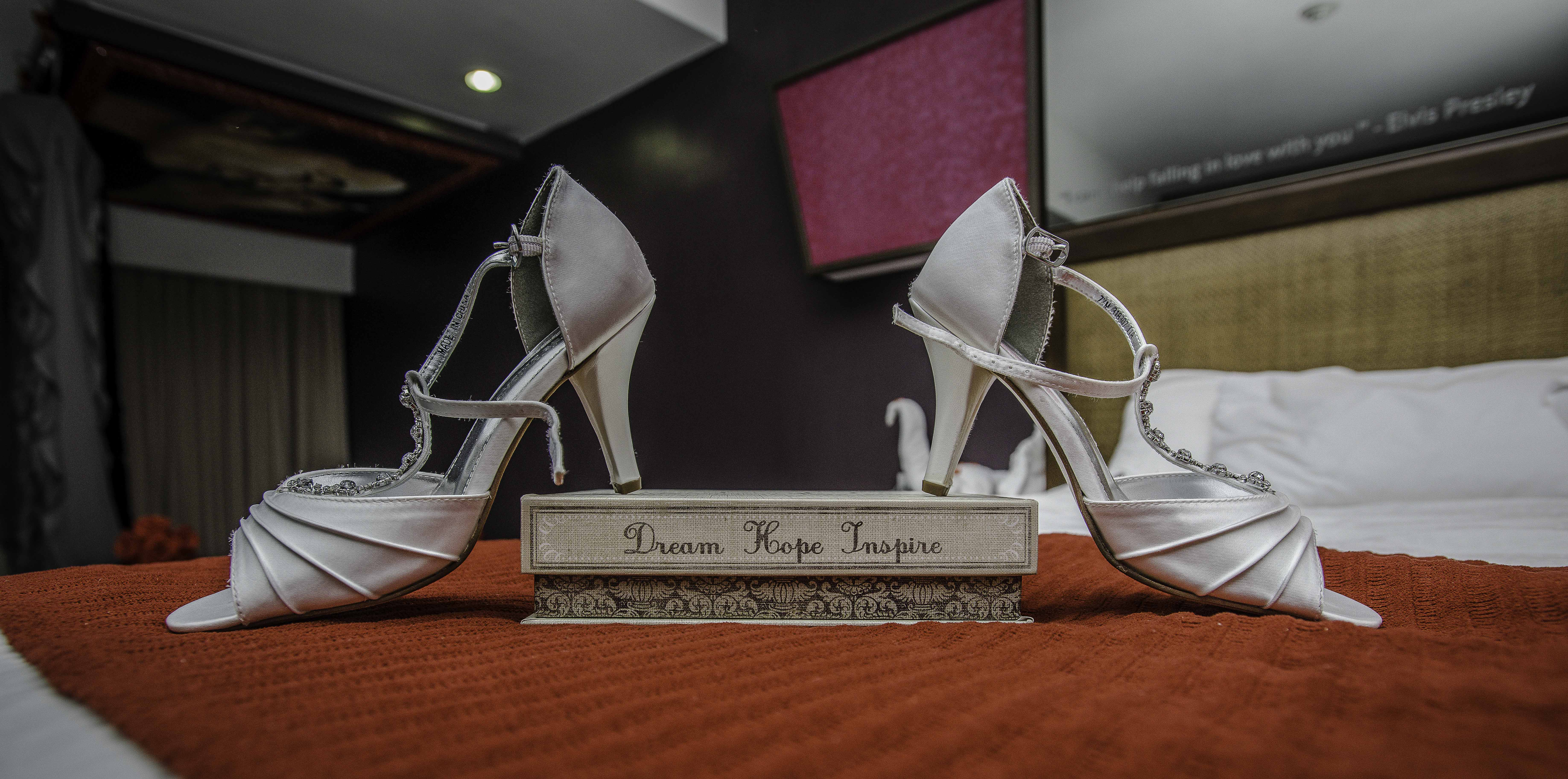 Wedding sandal Photography