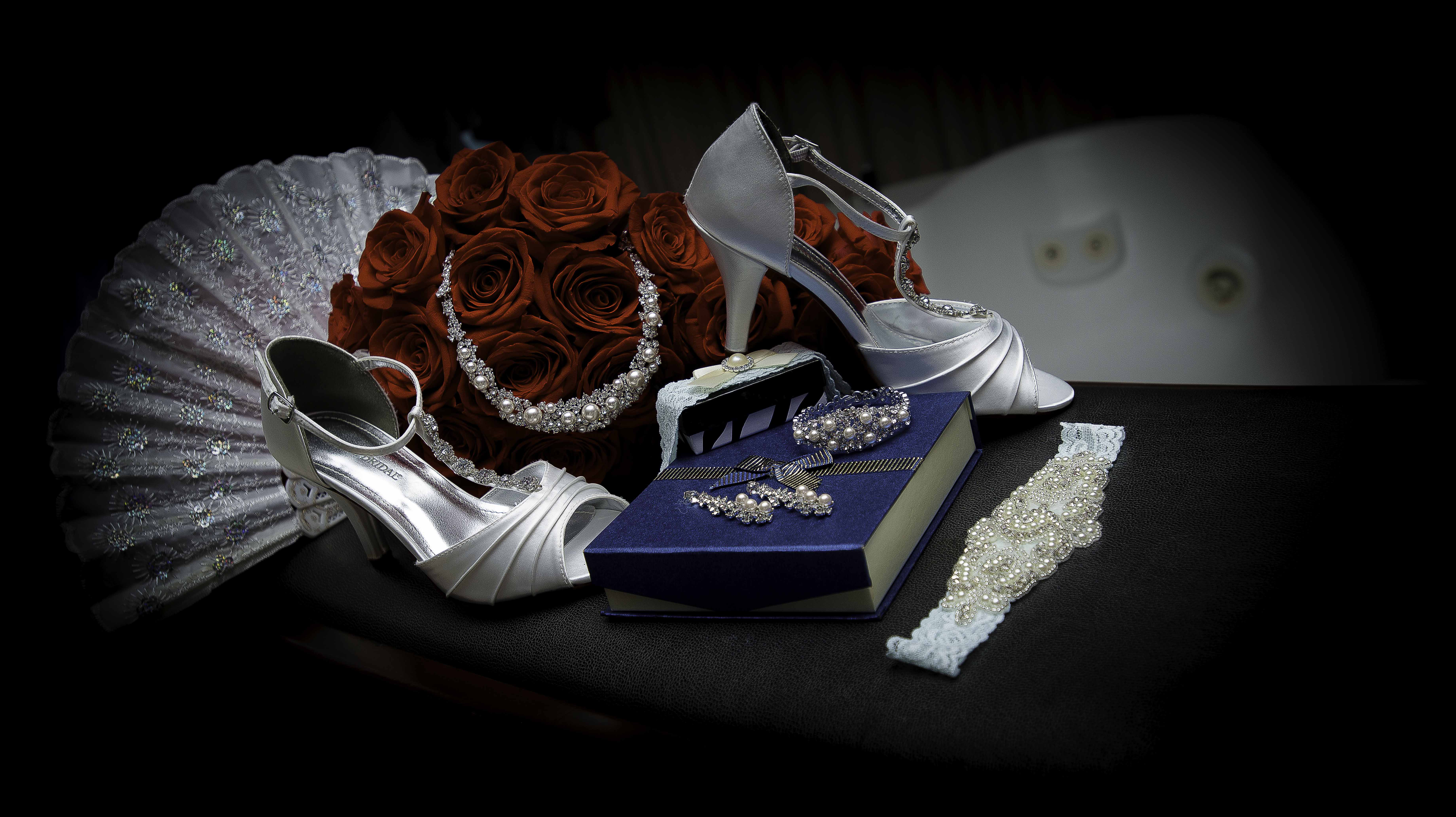 Wedding Photography with cloth